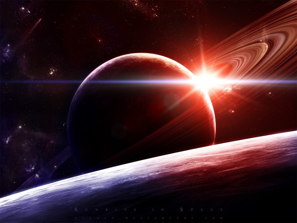 Sunrise_in_Space_by_gucken